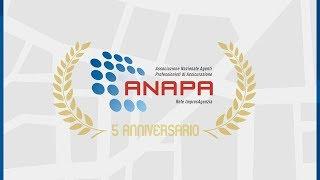 5° Anniversario di ANAPA