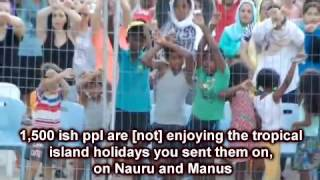 Nauru was once called Pleasant Island... before Australia among others mined the shit out of it, literally Nauru had great amounts ...