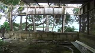 12/9/13 Climate change impact on the Marshall Islands: One island has all ready gone as sea levels rise