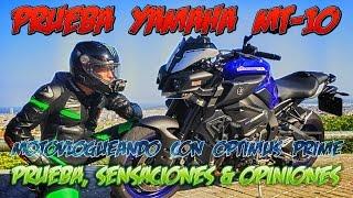 Yamaha MT10 - Sensaciones Y Opiniones OnBoard a lomos de Optimus Prime en BcN (ZoD Z MotoVloG)
