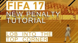 A tutorial to score some awesome lobs into the top corner with the new penalties in FIFA 17!▼Click here for additional information! :-)The penalties are completely reworked in FIFA 17. We explain the technique to lob the shot into the top corner on a penalty shoot.Also checkout our other tutorial videos about FIFA 17:https://www.youtube.com/playlist?list=PLsmsVY17ANMz_Lsac5truk0XnAm94gsB_FIFA 17 Fake Throw-ins: https://www.youtube.com/watch?v=hHY-QpNkkRQ• FIFA 17 GuideThis video is going to be a part of a huge FIFA 17 guide. If you are interested in more information on that, check out our Patreon campaign: https://goo.gl/ApPkDiWe are going to provide more information within the next weeks and keep you updated on the progress!• Pre-order FIFA 17 and support bPartGaming for free!http://goo.gl/Zq88qgThanks!• Social MediaFacebook: http://bit.ly/bPG-FacebookTwitter: http://bit.ly/bPG-TwitterGoogle+: http://bit.ly/bPG-Googleplus