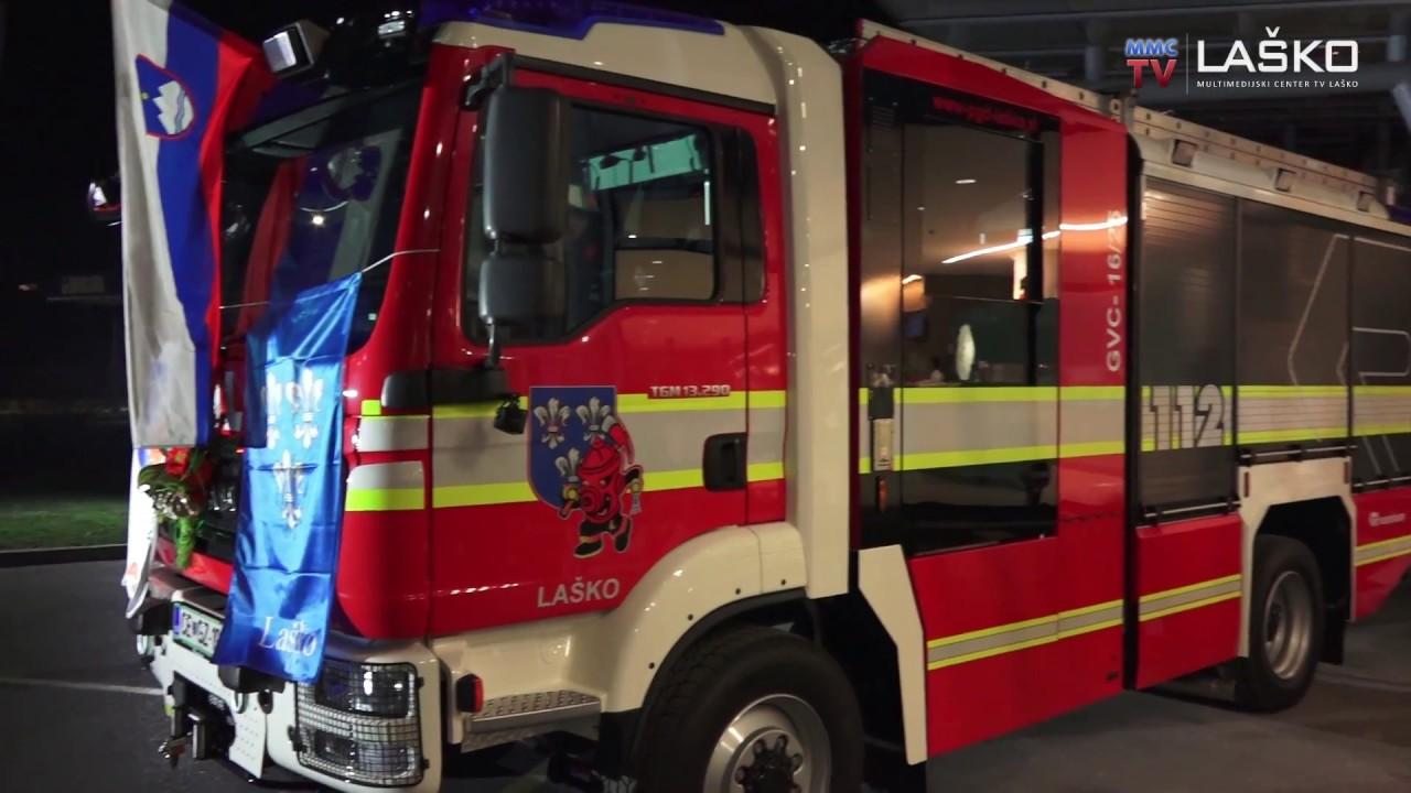 Prevzem novega gasilskega vozila GVC 16/25