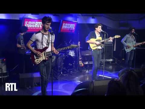 BB Brunes - Lalala love you en live dans le Grand Studio RTL présenté par Eric Jean-Jean - RTL - RTL