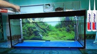 Video Aquarium model 1 - How to make an aquarium - [Piece of Paper] MP3, 3GP, MP4, WEBM, AVI, FLV Juni 2019
