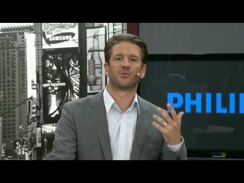 Philips SLV3110 TV-Funk-Übertragung, 2,4GHz, schwarz