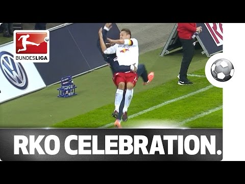 Leipzig debut RKO goal celebration in Germany