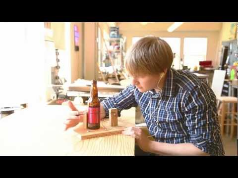 makemagazine - Complete instructions for this episode of Weekend Projects can be found at http://makezine.com/projects/bottle-radio/ Crystal radio technology has been aroun...