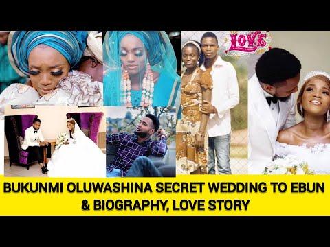 WATCH BUKUNMI OLUWASHINA'S SECRET WEDDINGS WITH  EBUN AND THEIR BIOGRAPHY💞💕🥰