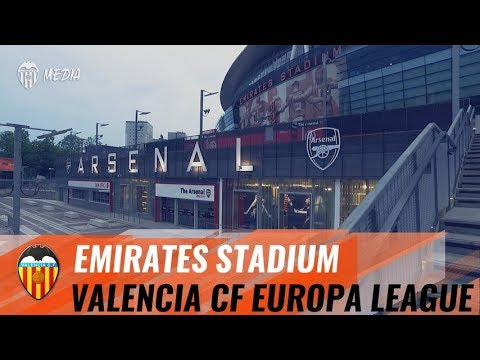 ARSENAL - VALENCIA CF EUROPA LEAGUE | ASI ES EL EMIRATES STADIUM