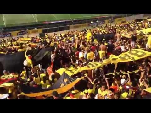 Sur oscura el cacapuel Los destroze y bombillo esperate un pokito mas .!!!( clasico ⚽️ - Sur Oscura - Barcelona Sporting Club