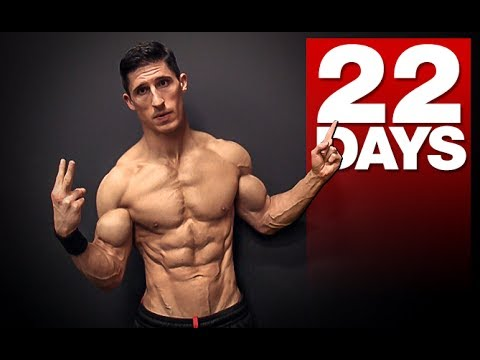 "The ""22 Day"" Ab Workout (NO REST!) (видео)"