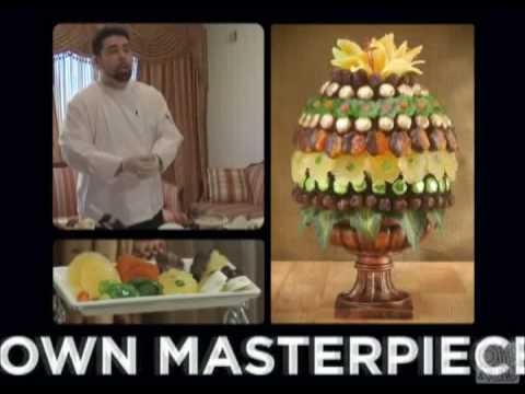 How To Make Edible Fruit Bouquets and Arrangements. Using Dried Fruit and chocolate. (видео)