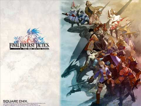 Final Fantasy Tactics OST - Bland Logo - Title Back