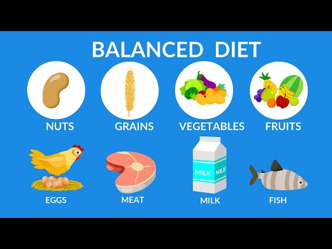 Balanced Diet || Best food for health