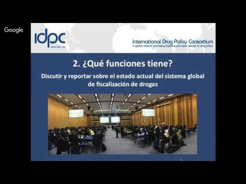 La Comisión de Estupefacientes de las Naciones Unidas: Una introducción (Seminario en línea)