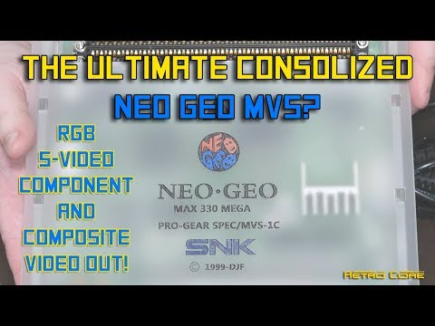 The Ultimate Consolized Neo Geo MVS? 4K