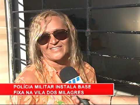 [RONDA GERAL] PM instala base de operações na Vila dos Milagres