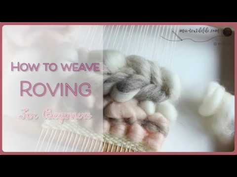 [Craft & DIY] How to weave Roving