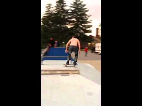 rail session at the park with matt ray burke manning and sideshow bob, morgantown, wv