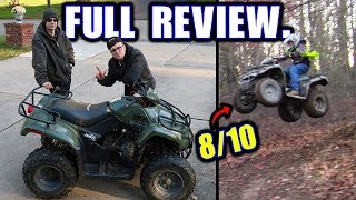 4. Here's Why the Arctic Cat 250 Is the Best Guest Quad (Review, Top Speed, Jumps, & Wheelies)