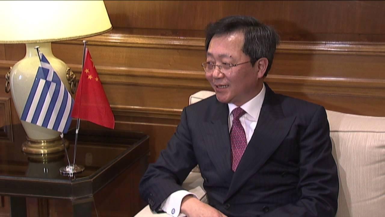 Συνάντηση του Πρωθυπουργού με τον Κινέζο Πρέσβη
