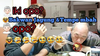 Video Reaksi Majikan Makan Bakwan Jagung Dan Tempe Goreng(Mendoan)   Makan Sampai Merem-Merem...😂😂 MP3, 3GP, MP4, WEBM, AVI, FLV Februari 2019