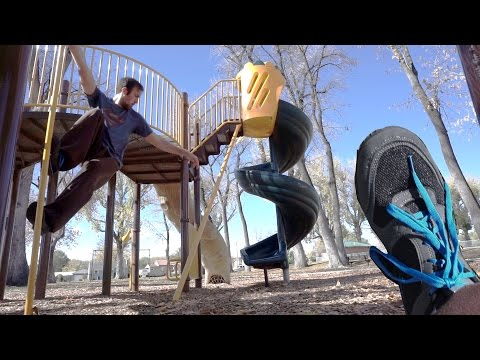 Video Testing Out the Take Flight Ultra (Parkour Shoes) on a Playground download in MP3, 3GP, MP4, WEBM, AVI, FLV January 2017