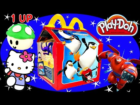 toys - Happy Meal McDonalds Surprise Toys including Play Doh Super Mario Egg, Hello Kitty Blind Box, Winnie The Pooh, Big Hero 6 Vinylmations Blind Box, Flintstones, Tarzan and more! Kids meal toys...