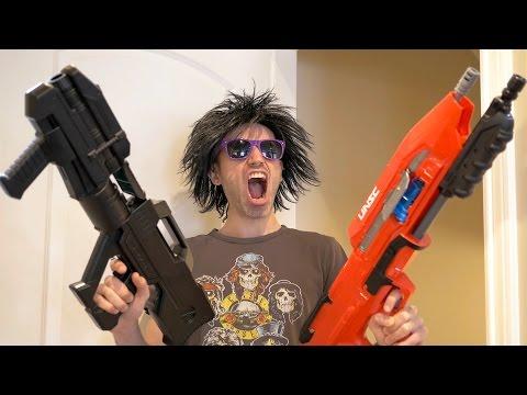 NERF GUN HALO WARS 2... from GunVsGun!...