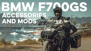 6. Accessories, Modifications, and Protection for BMW F700GS Adventure Motorcycle