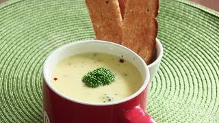Welcoming Winter with Broccoli Cheese Soup Video Recipe by Bhavna