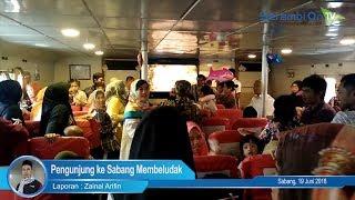 Pengunjung ke Sabang Membeludak, Begini Suasana di Pelabuhan Balohan dan Uleelheue, Banda Aceh