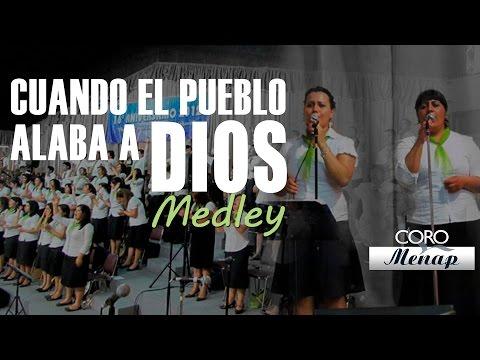Menap - Aquí compartimos con ustedes este Medley de Coros entonado por el Coro Menap el domingo 04 de noviembre de 2012, en el culto de clausura de nuestro 16° Anive...