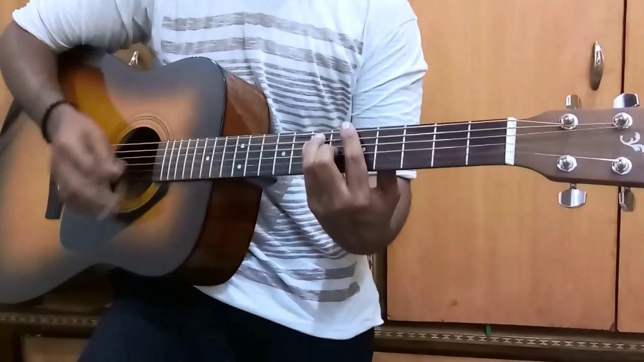 Pilla Raa Guitar cover | RX 100 Movie Songs || ft. Phani |||•