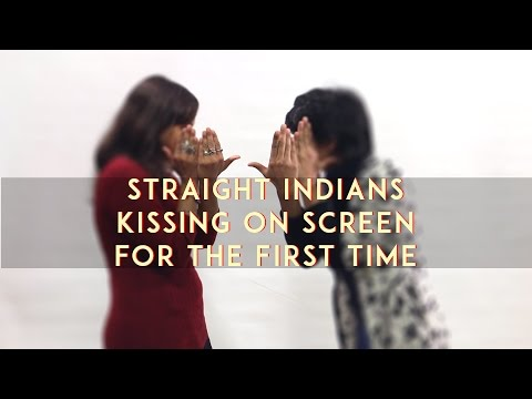 Straight Indians Kissing On Screen For The FIRST TIME