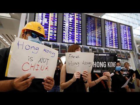 Ξανά στους δρόμους οι κάτοικοι του Χονγκ Κονγκ