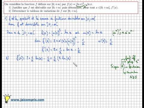 comment trouver un encadrement de f(x)