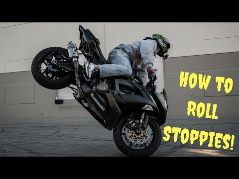 How to STOPPIE your Motorcycle NOW for Beginner Stunt Riders!