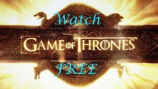 In this tutorial, I explain how to watch Game of Thrones for free. You don't have to pay for HBO Go, and you do not have to sit by your TV watching. This website allows you to watch GoT season 6 (and all other seasons) for free! The website is:www.viewgameofthrones.comPlease subscribe, thumbs up, and like my video for more Game of Thrones content.