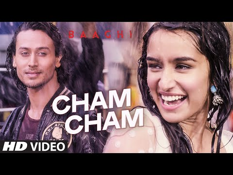 Cham Cham Video  BAAGHI   Tiger Shroff, Shraddha Kapoor   Meet Bros, Monali Thakur   Sabbir Khan
