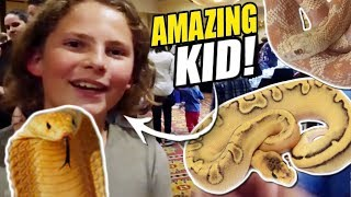 AFRICAN SNAKE SHOW!!! | BRIAN BARCZYK by Brian Barczyk