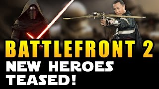 Star Wars Battlefront 2 (2017) News: New Heroes TEASED from New Movies! (Rogue One, Episode 8)