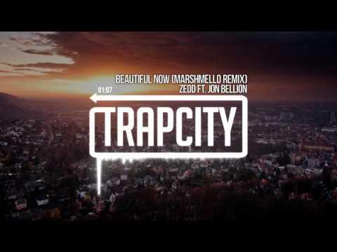 Zedd - Beautiful Now (ft. Jon Bellion) (Marshmello Remix) (видео)