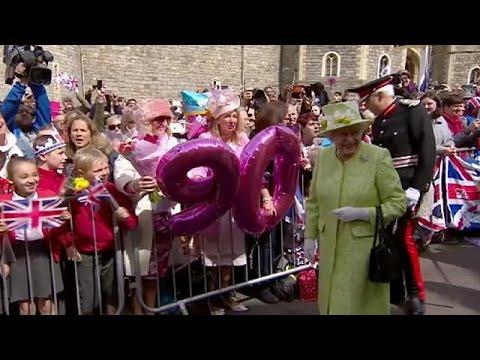 Το Λονδίνο έβαλε τα γιορτινά του για τα 90 γενέθλια της βασίλισσας Ελισάβετ