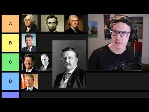 US President Tier List (reupload - full)
