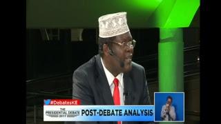 LIVE proceedings of the 2017 Kenya Presidential running mates Debate.