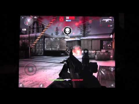 Modern Combat 3 : Fallen Nation IOS