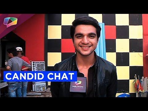 Candid chat with Ashwini Koul on the sets of Sadda