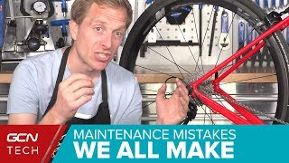 Video 5 Maintenance Mistakes Even Experienced Cyclists Make MP3, 3GP, MP4, WEBM, AVI, FLV Juli 2019