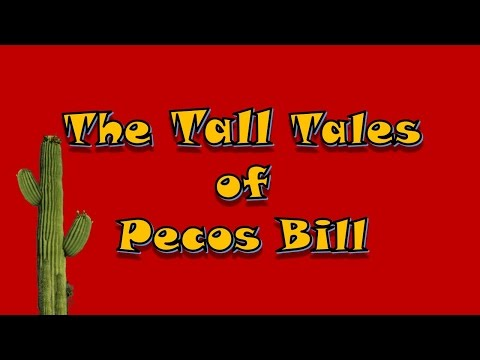 The Tall Tales of Pecos Bill-Read by Rick Busciglio